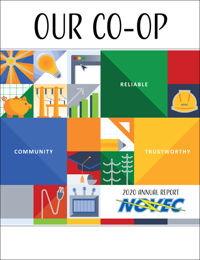 NOVEC Annual Report 2020 Cover